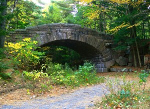 Bridge at Bubble Pond area, Acadia National Park ME