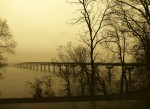 Tennessee River, site of Colbert Ferry, Natchez Trace Parkway AL