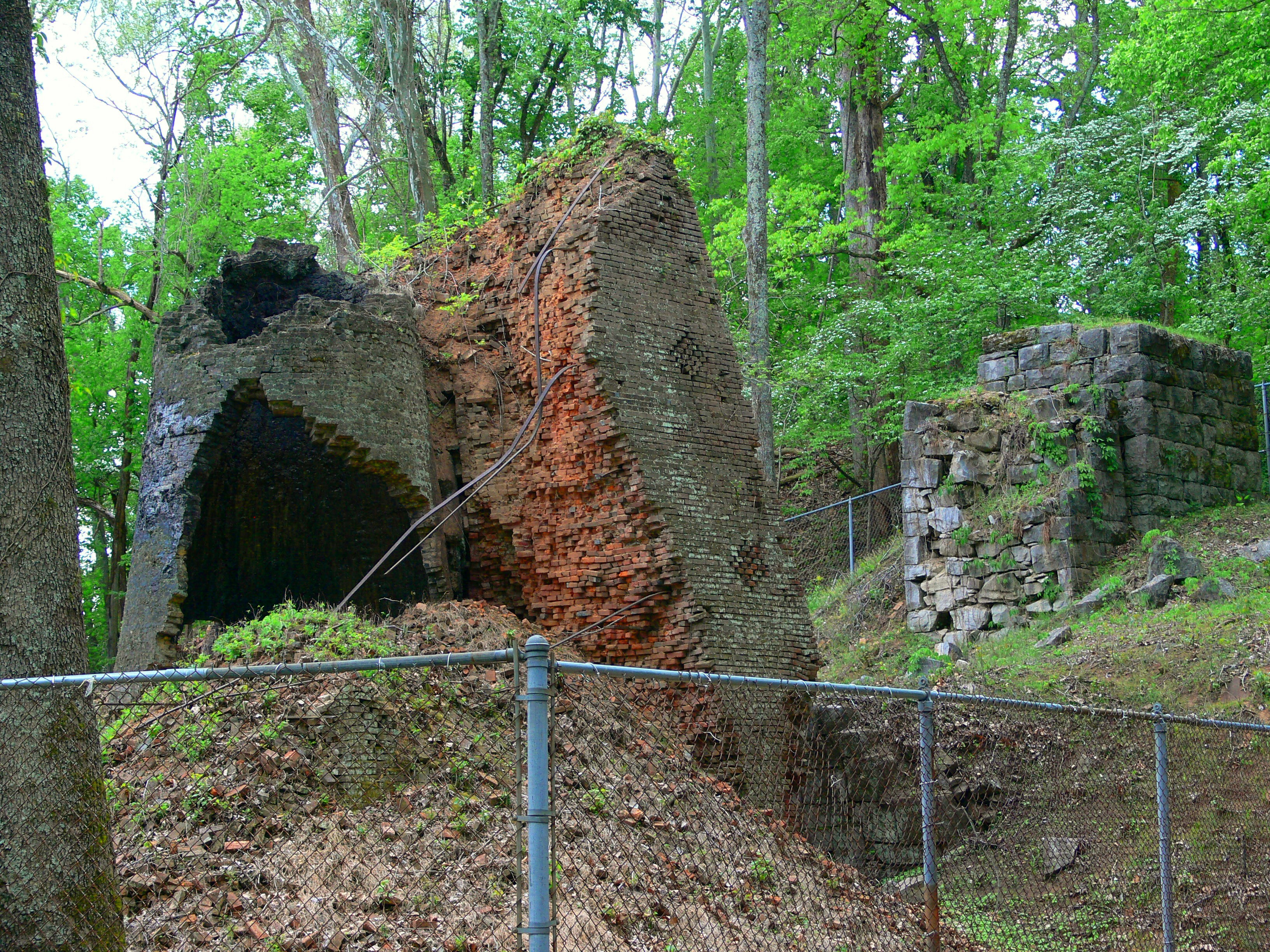 Old Iron Furnace Land Between The Lakes National