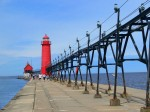 Grand Haven Pier Lights, Grand Haven MI
