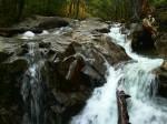 The Basin Falls, New Hampshire