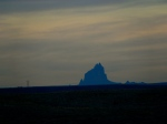 Shiprock viewed from the Four Corners