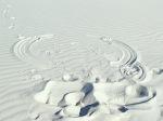 sand angel, White Sands National Monument NM